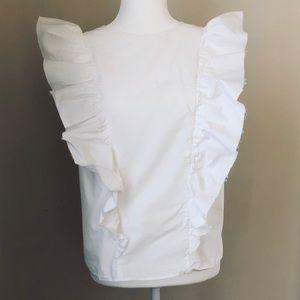 Beautiful Current / Elliott ruffle blouse